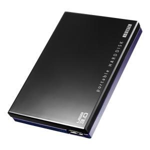 I-O DATA USB3.0/2.0 ポータブルHDD 超高速カクうす ブラック 500GB HDPC-UT500KE (旧モデル)|braggart4