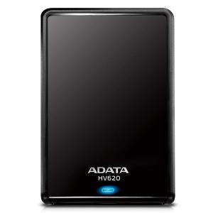 ADATA HV620 USB3.0 TV録画対応 2.5インチポータブルHDD 1TB ブラック AHV620-1TU3-CBK|braggart4