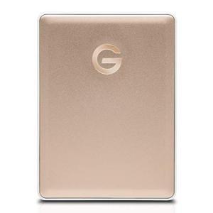 G-Technology 0G10340 HGST G-Technology G-Drive Mobile USB-C 2TB Gold braggart4