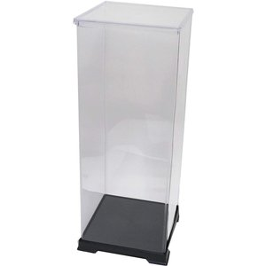 かしばこ商店 透明フィギュアケース 212145 プラスチック 組立式 W210×D210×H450...