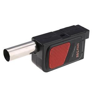 バーベキュー ファン 電池式 火起こし ガンブロー 火おこし 電動 送風機 BBQ 料理ツール bbq 送風機|braggart4