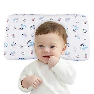 Adokoo ベビーまくら赤ちゃん 枕 向き癖 絶壁防止 斜頭 むきぐせ 頭の形が良くなる 寝返り防止 寝姿を矯正 快眠 通気 カバー綿10 braggart4