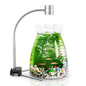 EAYHM 水槽 ライトと水草植物育成ライト スタンド 多機能 カラー LED 小型アクアリウム ライト braggart4