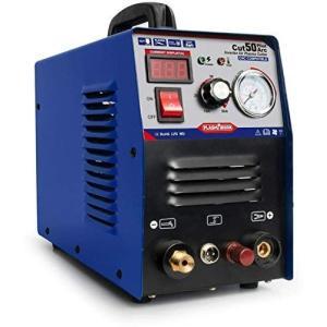 CUT50P プラズマカッター エアープラズマ切断機 インバーター デジタル切断機 100/200v兼用機 非接触切断 軽量 CNC工作機械 braggart4