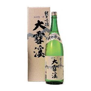 大雪渓 純米吟醸酒 日本酒 長野県 720ml ギフトBox入り|braggart4