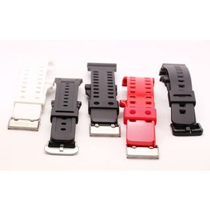 ばね棒付 バンド 専用 CASIO カシオ G-SHOCK Gショックバンド 替えベルト 腕時計 バネ棒2本付  取付カン幅16mm G-8900 GR-8900 DW-6900G GD-100 DW-5600