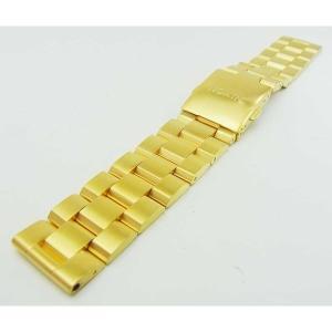 NIXON ニクソン ベルト バンド ゴールド  腕時計 メンズ レディース 22mm バネ棒なし
