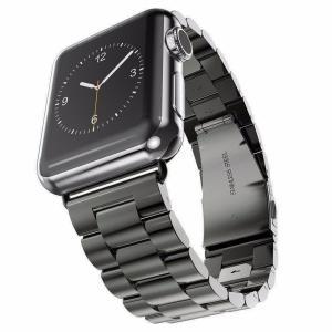 Apple Watch バンド ベルト 42mm ステンレス スチール製 【サイズ 42mm】 長さ...