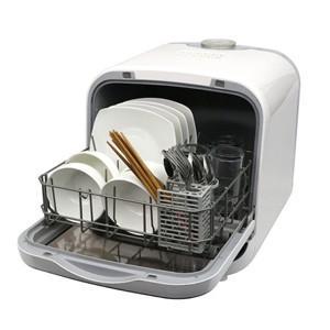 送料無料(一部地域を除く)「エスケイジャパン/食器洗い乾燥機SDW-J5L(W)」食洗器/食洗機/食...
