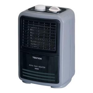 TEKNOS ミニファンヒーター(温調付)TSO-602 テクノス|brain8