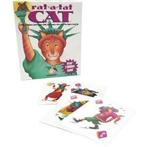 Gamewright Rat-a-tat Cat Game brainpower