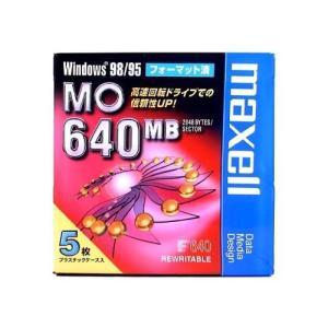 maxell データ用 3.5型MO 640MB Windowsフォーマット 5枚パック MA-M640.WIN.B5P|brainpower