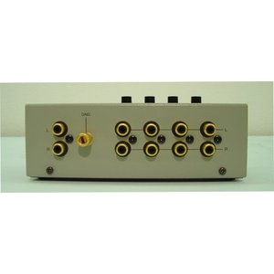 ラックスマン ラインセレクター (1台 シルバーグレー W:160xD:95xH:65mm 530g) AS-4III|brainpower