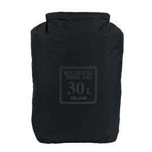 イスカ(ISUKA) ウェザーテック インナーバッグ 30L ブラック 356501|brainpower