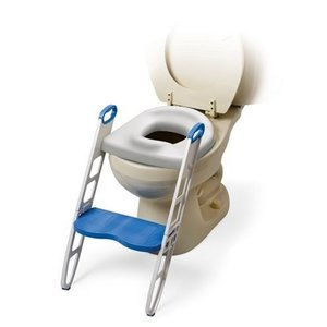 MOMMY'S HELPER トイレトレーニング 補助便座 ステップ付 (折りたたみ式) BCMH11148|brainpower