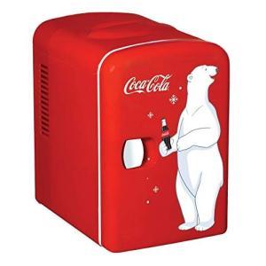 コカコーラデザインミニ冷蔵庫 KWC-4 Coca-Cola Personal 6-Can【新デザイン】 輸入品|brainpower