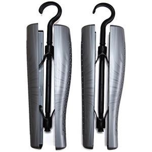 イタリア製 通気孔付き スクリュー ブーツキーパー (吊り下げフック付き) 1足分(2本組)|brainpower