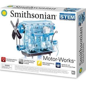 エンジン模型 スケルトンエンジンプラモデル Smithonian スミソニアン|brainpower