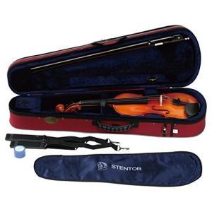 STENTOR バイオリン アウトフィット 適応身長130~145cm ハードケース、弓、松脂 SV-180 3/4|brainpower