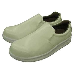 [日進ゴム] 作業靴 ハイパーV #5000 耐油 防滑 軽量 先芯無し メンズ ホワイト 22.5|brainpower