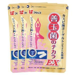 【公式】フジッコ 善玉菌のチカラEX(31粒入り)(3袋セット)|brainpower