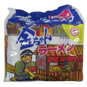 徳島製粉 金ちゃんラーメン5食パック 515g×6袋|brainpower