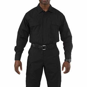 5.11タクティカル TDU 長袖シャツ 72054 ブラック Sサイズ|brainpower