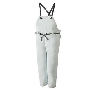 ロゴス 産業用レインウェア クレモナ水産 胸当付ズボン(ゴム式) 10061610 ホワイト 特号|brainpower