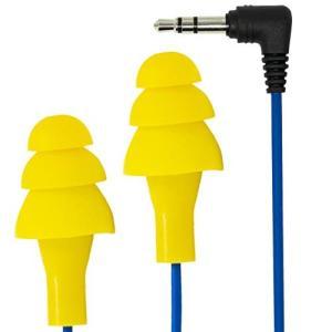 Plugfones 1st Generation Yellow Ear Plug Earbuds by Plugfones|brainpower