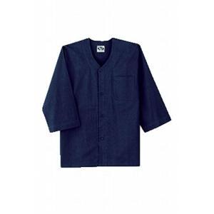 SOWA(ソーワ) ダボシャツ ネイビー 3Lサイズ 65011|brainpower