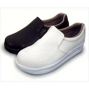 [日進ゴム] 作業靴 ハイパーV #5000 耐油 防滑 軽量 先芯無し メンズ ホワイト 21.5|brainpower