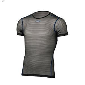 ファイントラック(finetrack) パワーメッシュTシャツ ブラック FUM0812 メンズ S|brainpower