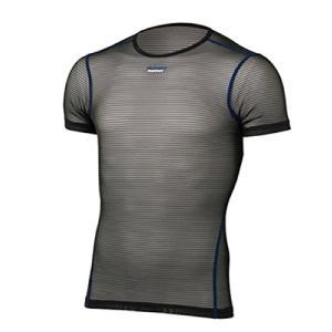 ファイントラック(finetrack) パワーメッシュTシャツ ブラック FUM0812 メンズ M|brainpower