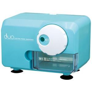 アスカ 電動シャープナーDUO ブルー 色鉛筆対応 EPS600B|brainpower