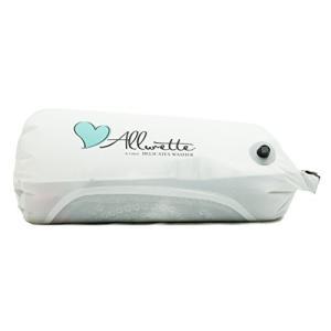 旅行用洗濯袋 Scrubba Washbag スクラバ ウォッシュバッグ 便利トラベルグッズ キャンプ 携帯用洗濯袋 (ウォッシュバッグ 緑) (白|brainpower
