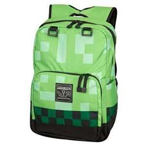 [ジンクス]JINX Minecraft 18 Creeper Kids Backpack Green 5056030835797 [並行輸入品]|brainpower