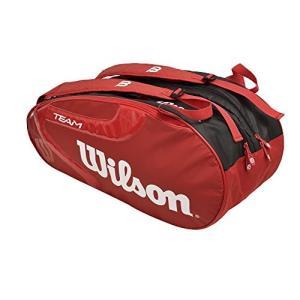 Wilson(ウイルソン) テニス バッグ バドミントン ラケットバッグ TEAM J 2.0 9 PACK(チームJ 2.0 9パック) ラケット9|brainpower