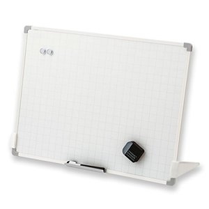 アスカ ホワイトボード セクションボード スタンド付 VWB075 暗線入り Lサイズ|brainpower