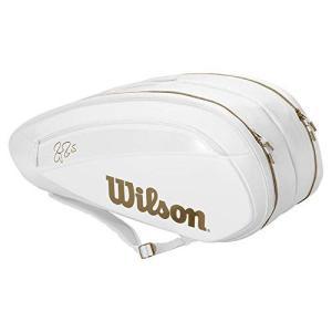 Wilson(ウイルソン) テニス バドミントン ラケットバッグ FEDERER DNA 12 PA...