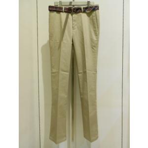 FRED PERRY (フレッドペリー) Slim Trousers (F4195)ベージュ