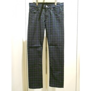 FRED PERRY (フレッドペリー) Slim Check Pants (F4227/01)