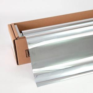 窓ガラスフィルム ミラーフィルム スパッタシルバー15(マジックミラー) 50cm幅×30mロール箱売|braintec