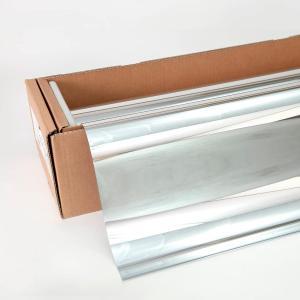 窓ガラスフィルム ミラーフィルム スパッタシルバー15(マジックミラー) 92cm幅×30mロール箱売|braintec