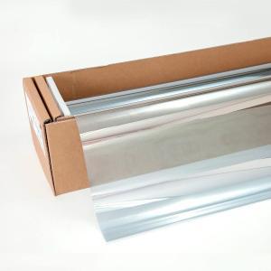 窓ガラスフィルム ミラーフィルム スパッタシルバー50 50cm幅×30mロール箱売|braintec