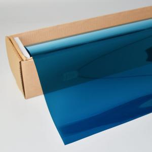 カーフィルム ミラーフィルム(青)   ミラーブルー17   50cm幅 x 長さ30mロール箱売|braintec
