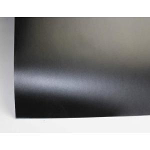 マットブラック (CAST高品位3次曲面対応) 1.5m幅×長さ1m単切売 エア抜き糊 マッドブラック つや消しブラック ラッピングフィルム ラッピングシート|braintec
