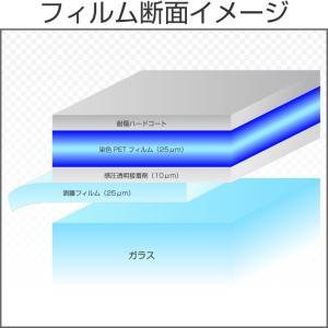 カーフィルム カラーフィルム(青) マイアミブルー(21%) 1m幅×長さ1m単位切売|braintec|02