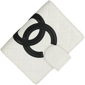 3bf753c26b4c 中古 シャネル 手帳カバー アジェンダ カンボンライン カーフレザー ブラック ホワイト ピンク マトラッセ CCマーク バインダー ステーショナリー  6穴式