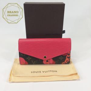 【未使用】 LOUIS VUITTON ヴィトン ポルトフォイユ・サラ 長財布 レディース M60938 2015サマーコレクション|brand-channel