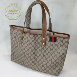 【SAランク】グッチ GUCCI GGトート 211134 BAG brand-channel